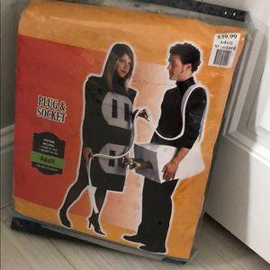 Other - NIP Adult Plug & Socket Halloween Costume Set